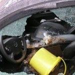 В сети появилось фото гранаты, брошенной в машину Парасюка