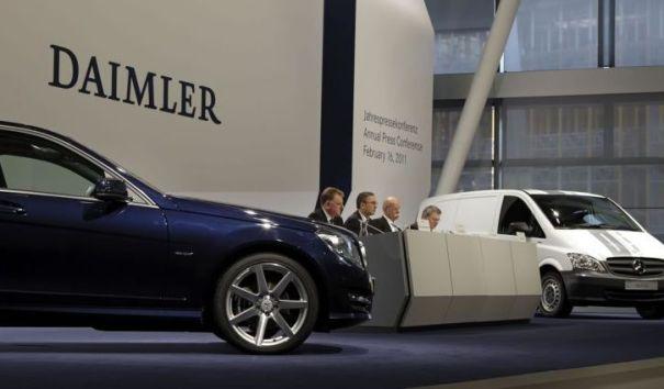 В Подмосковье появится завод Mercedes-Benz за 300 млн евро