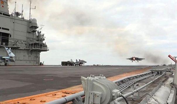 Минобороны подтвердило потерю Су-33