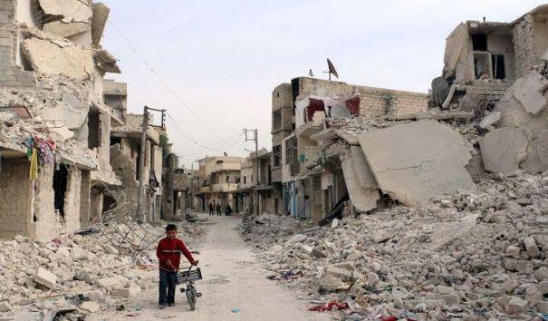 Освобождены исторические кварталы Алеппо