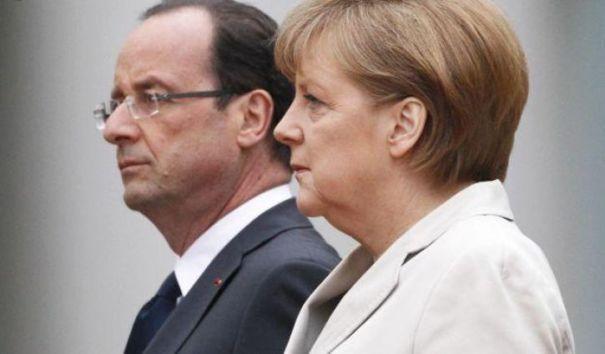 Олланд и Меркель хотят продлить антироссийские санкции