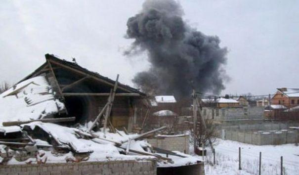 ДНР обвинило ВСУ в обстреле Донецкого химзавода
