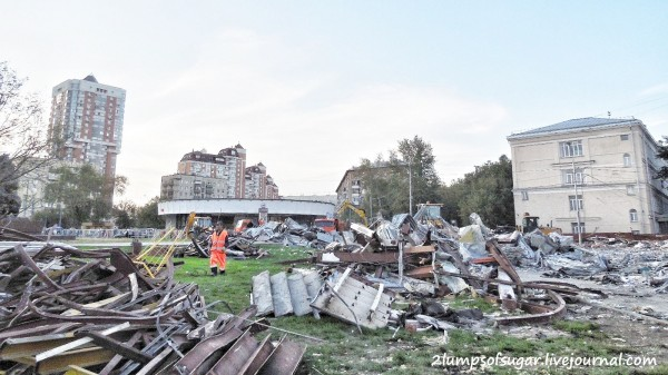 Программа сноса ветхих пятиэтажек в Москве