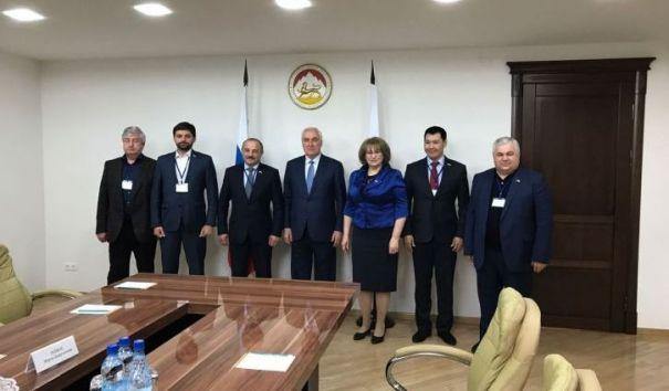 Депутаты Госдумы встретились с президентом Южной Осетии