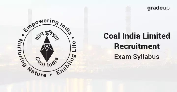 Coal India Limited (CIL) 2017 Syllabus for Civil Engineering