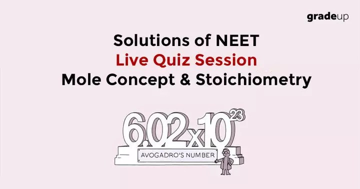 Solutions of NEET Launchpad Chemistry Live Quiz Session on