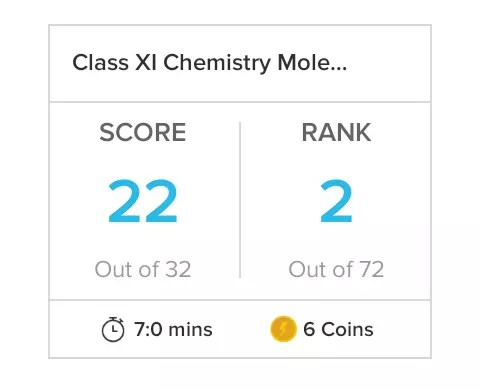 Class XI Chemistry Mole concept and Stoichiometry 2 27-May