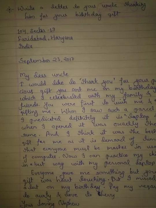 Descriptive Paper: Letter Writing