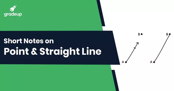 Point and Straight Line Notes for IIT JEE. Download PDF! : JEE & BITSAT