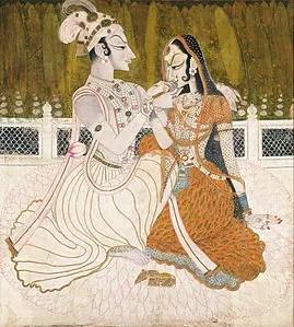 Kishangarh Miniature Painting (or) Bani Thani paintings | Indian Paintings