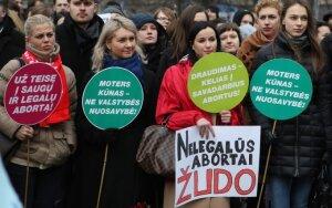 Įstatymu siūloma įtvirtinti reprodukcines teises