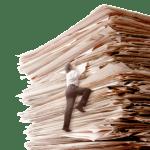 Więcej asystentów towięcej akt wsekretariacie