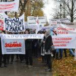 Organizatorzy manifestacji wWarszawie: Brakowało nam innych związków zawodowych