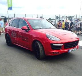 Porsche Cayenne officielle.