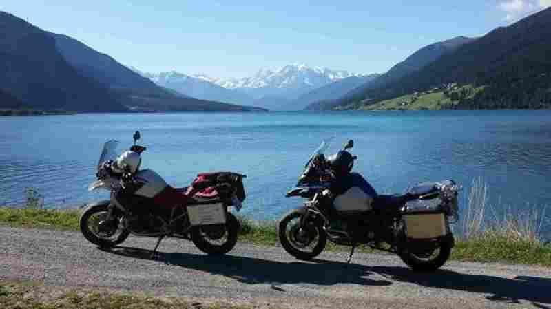 Motorradtouren über den Reschenpass