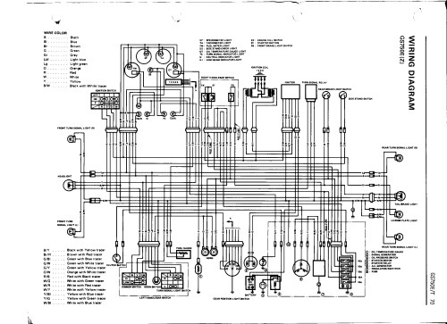 small resolution of bikecliff s website gs750 16 valve color wiring diagram