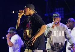 Wu-Tang Clan performs during the Rock the Bells Festival in Devore on Sunday, September 8, 2013.
