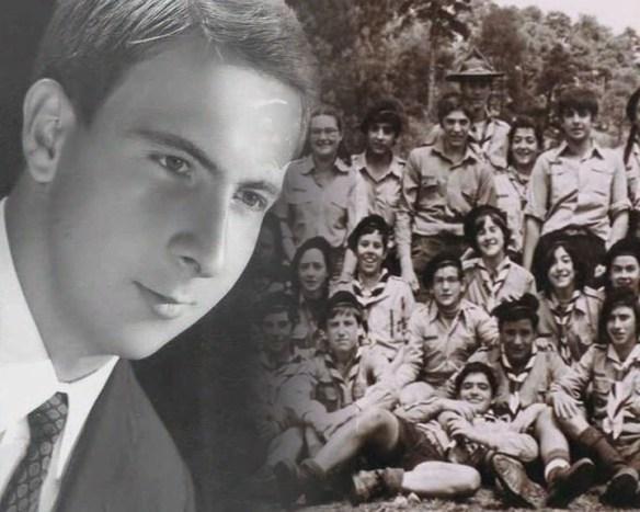 Javier Olaso, principal valedor del Grupo Scout Calasanz.