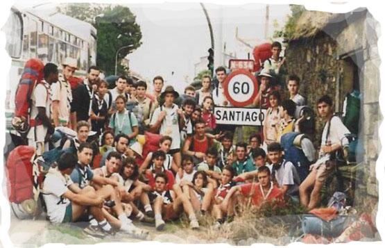 """Camino de Santiago. Grupo de rutas a los que los lugareños se referían como """"los cincuenta del negro"""""""