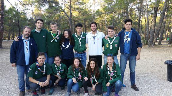 La comunidad Polaris con sus scouters.