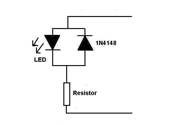 dcc track wiring signal light