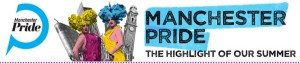 Manchester Pride footer banner