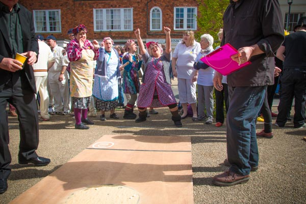 Marbles Match and Easter Bonnet Parade at Abbey Green