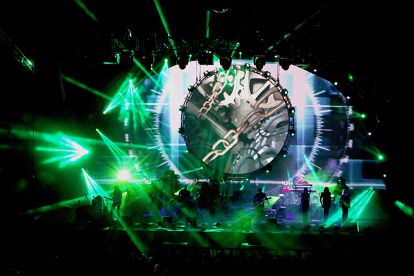 Brit Floyd performing at The Liverpool Echo Arena