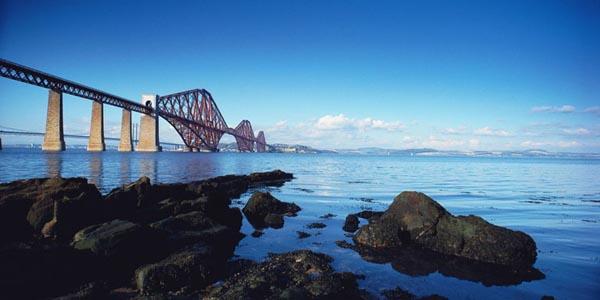 Firth of Forth rail and road bridges