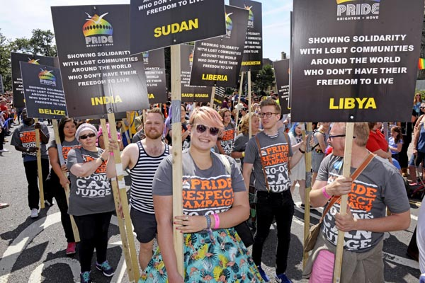 Brighton Pride 2015: Photo Chris Jepson