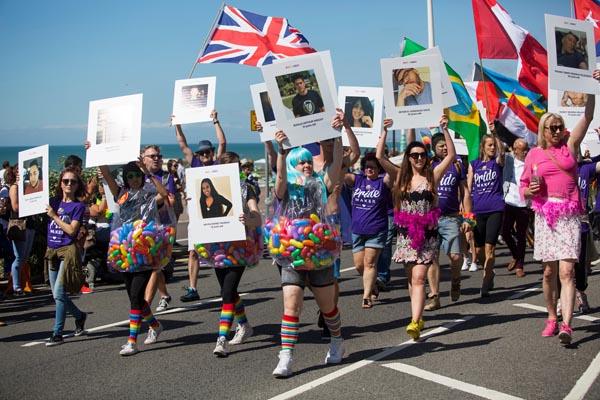 Brighton Pride, 06/08/2016