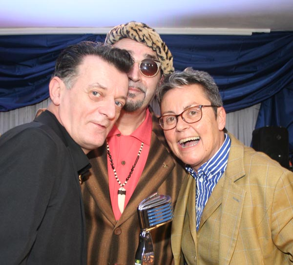Sharon Barr (far right)