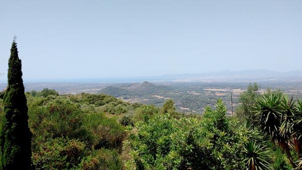View from Puig de Randa