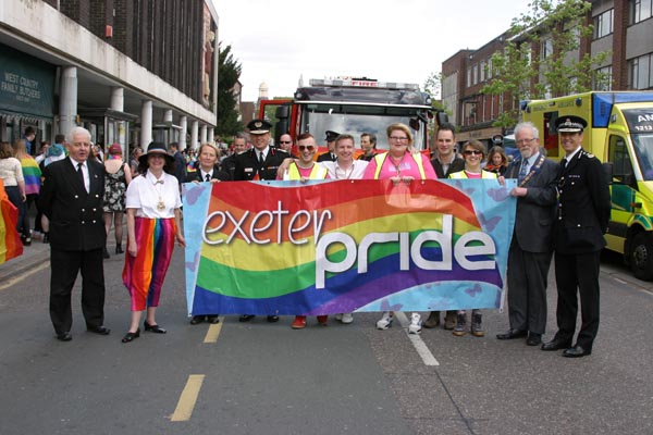 Exeter Pride 2017