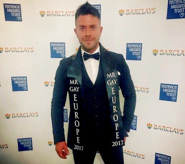 Mr Gay Europe, Matt Rood