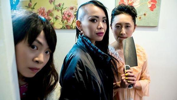 Elizabeth (Shin-Fei Chen) Jackie (Yennis Cheung) FuFu (Yuyu Rau)