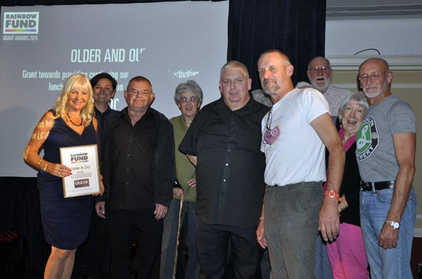 Rainbow Awards: Older & Out