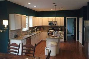 Lansdale kitchen cabinets refurbished.