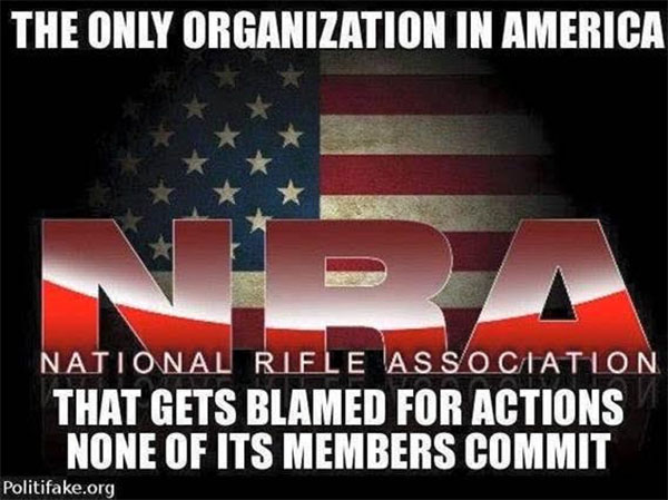 NRA Blame