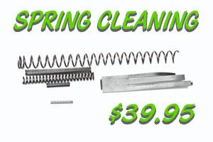 Spring Gun Cleaning