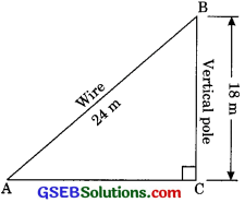 GSEB Solutions Class 10 Maths Chapter 6 Triangle Ex 6.5