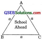 GSEB Solutions Class 9 Maths Chapter 12 Heron's Formula Ex 12.1
