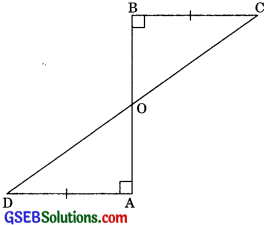 GSEB Solutions Class 9 Maths Chapter 7 Triangles Ex 7.1