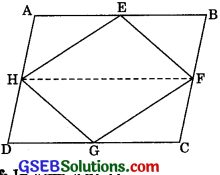GSEB Solutions Class 9 Maths Chapter 9 Areas of Parallelograms and Triangles Ex 9.2