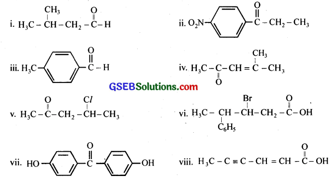 GSEB Solutions Class 12 Chemistry Chapter 12 Aldehydes, Ketones and Carboxylic Acids 11