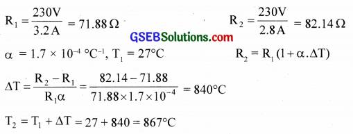 GSEB Solutions Class 12 Physics Chapter 3 Current Electricity 2