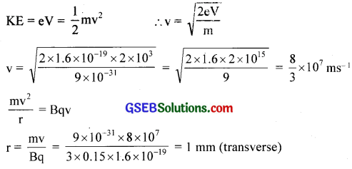 GSEB Solutions Class 12 Physics Chapter 4 Moving Charges and Magnetism 4
