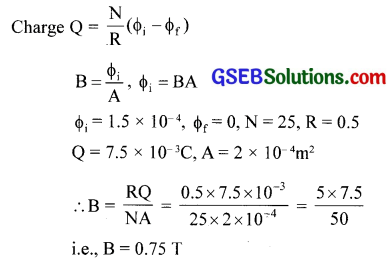 GSEB Solutions Class 12 Physics Chapter 6 Electromagnetic Induction 6
