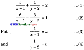 GSEB Solutions Class 10 Maths Chapter 3 Pair of Linear Equations in Two Variables Ex 3.6 img-5