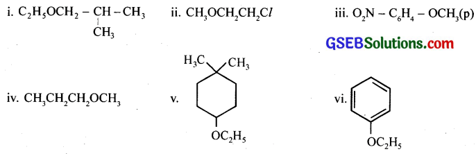 GSEB Solutions Class 12 Chemistry Chapter 11 Alcohols, Phenols and Ehers 39
